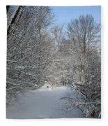 Amongst The Trees Fleece Blanket