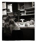 Amor In A Madrid Bar - Spain Fleece Blanket