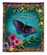 Amore - Butterfly Version Fleece Blanket