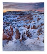 Amphitheater Sunrise Fleece Blanket