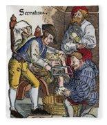 Amputation, 1540 Fleece Blanket