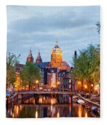 Amsterdam Fleece Blanket