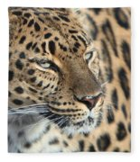 Amur Leopard Fleece Blanket