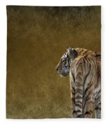 Amur Tiger Fleece Blanket