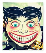 Amusement Smile Fleece Blanket