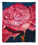 An American Beauty Fleece Blanket