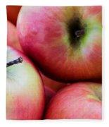 An Apple A Day Fleece Blanket
