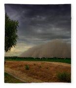 An Arizona Dust Storm  Fleece Blanket