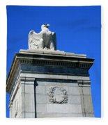 An Eagle To Arlington Fleece Blanket