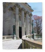 An Elegant Newport Mansion Fleece Blanket