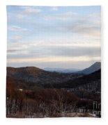 An Elk Knob View Fleece Blanket