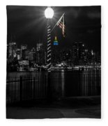An Empire In The Distance Fleece Blanket