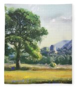 An Englishman's Castle Fleece Blanket