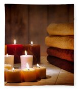 An Evening At The Spa Fleece Blanket
