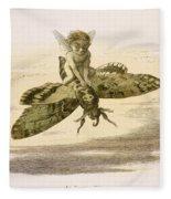 An Evening Ride, Illustration From In Fleece Blanket