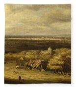 An Extensive Landscape Fleece Blanket