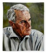 An Interesting Man - Viktor Hesse Fleece Blanket