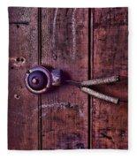 An Old Doorbell Fleece Blanket