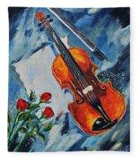 An Old Song 2 Fleece Blanket