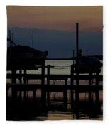 An Outer Anks Of North Carolina Sunset Fleece Blanket