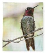 Ana Hummingbird Fleece Blanket