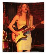 Guitarist Ana Popovic Fleece Blanket