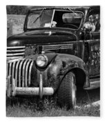 Anaconda Vintage Truck Fleece Blanket