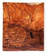 Anasazi  Cliff Dwelling Fleece Blanket