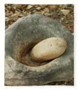 Anasazi Grinding Bowl Fleece Blanket