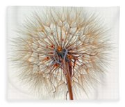 Anatomy Of A Weed High Key  Fleece Blanket