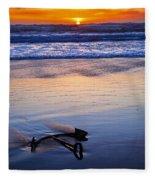 Anchor Ocean Beach Fleece Blanket
