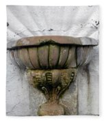 Ancient Fountain Fleece Blanket