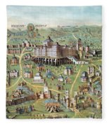 Ancient Jerusalem Fleece Blanket