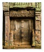 Ancient Portal Fleece Blanket