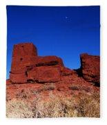 Ancient Pueblo Fleece Blanket