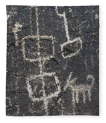 Ancient Rock Memo Fleece Blanket