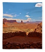 Ancient Viewpoint Fleece Blanket
