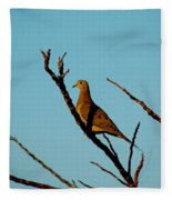 And A Dove In A Tree Fleece Blanket