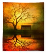 And I Will Wait For You Until The Sun Goes Down Fleece Blanket