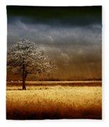 And The Rains Came Fleece Blanket