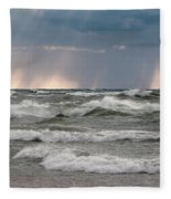 And There Was Light Fleece Blanket
