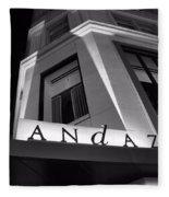 Andaz Hotel On 5th Avenue Fleece Blanket