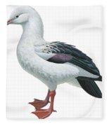 Andean Goose Fleece Blanket