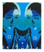 Android Twins Fleece Blanket