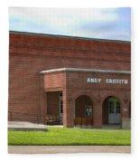 Andy Griffith Playhouse Nc Fleece Blanket