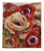 Anemones Fleece Blanket