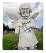 Angel Child Fleece Blanket