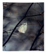 Angel Feather Fleece Blanket