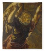 Angel From The Annunciation To The Virgin Fleece Blanket