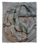 Angel In A Wall Fleece Blanket